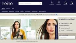 www.heine.de Vorschau, Heinrich Heine GmbH