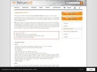 Supported cameras - Helicon Soft