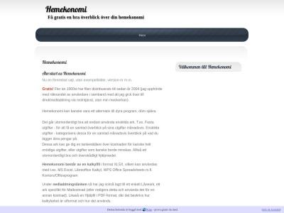 www.hemekonomi.n.nu