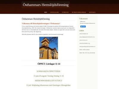 www.hemslojdenosthammar.se