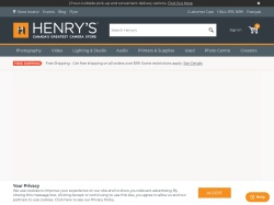 Henrys coupon codes
