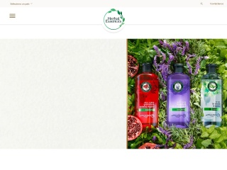 Captura de pantalla para herbalessences.com.mx