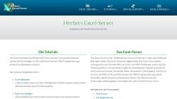 www.herber.de Vorschau, Herbers Excel-Server