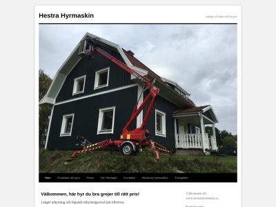 www.hestrahyrmaskin.se