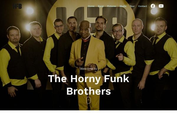 Vorschau von www.hfb.at, The Horny Funk Brothers