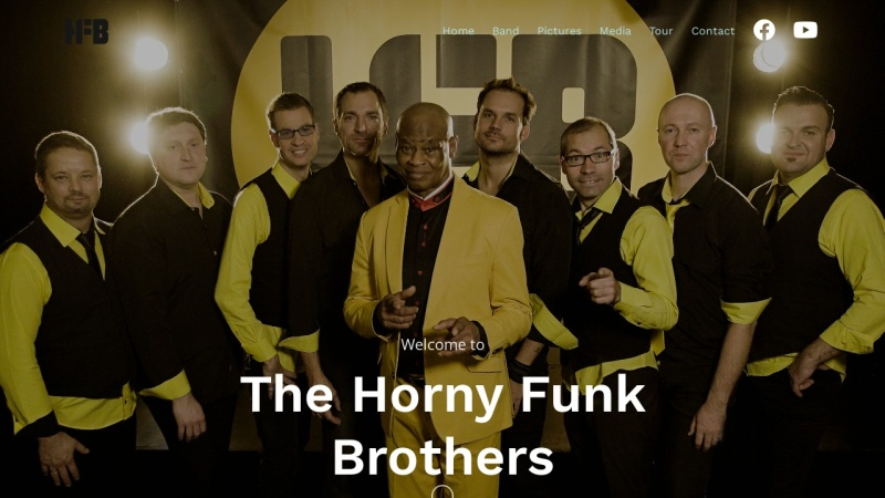 www.hfb.at Vorschau, The Horny Funk Brothers