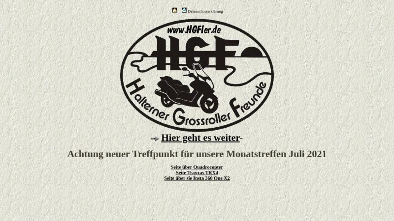 www.hgfler.de Vorschau, Halterner Grossroller Freunde