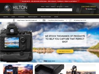 Screenshot for hiltonphotographic.co.uk
