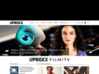 Screenshot for hitfix.com