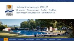 www.hoechster-schwimmverein.de Vorschau, Höchster Schwimmverein 1893 e.V.