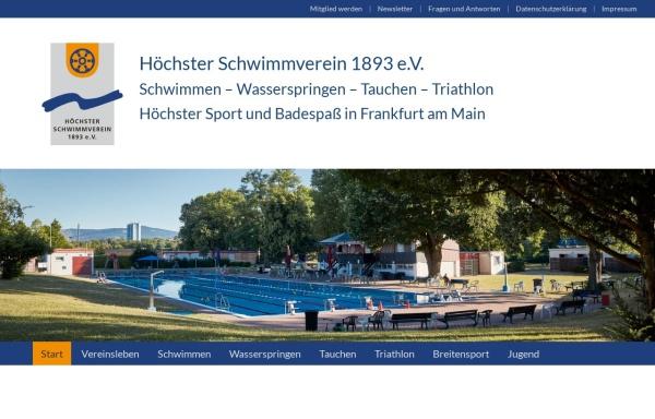 Vorschau von www.hoechster-schwimmverein.de, Höchster Schwimmverein 1893 e.V.