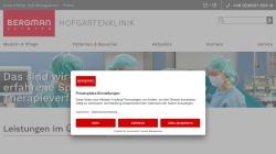 www.hofgartenklinik.de Vorschau, Hofgartenklink