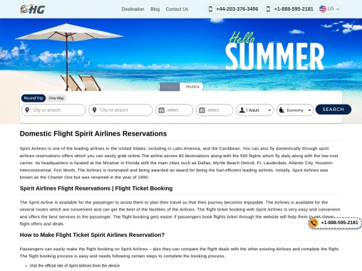 Spirit Airlines Manage Booking +1-888-595-2181