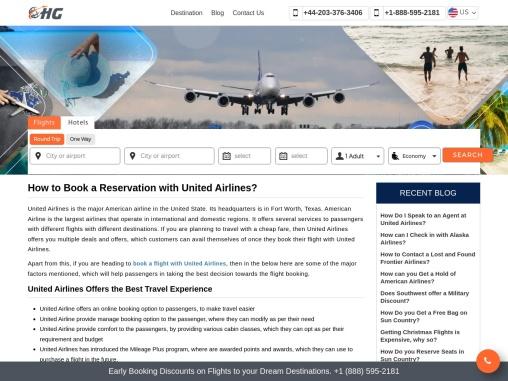 United Airlines flight deals +1-888-595-2181