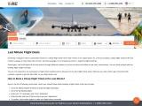 Last-Minute Flight Deals +1-888-595-2181