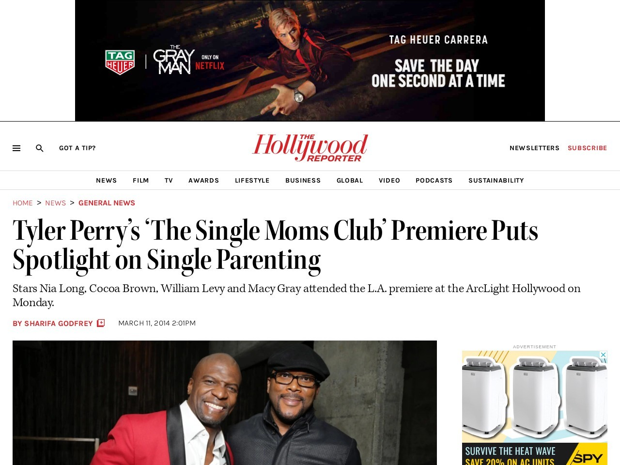 Tyler Perry's 'The Single Moms Club' Premiere Puts Spotlight on …