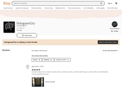 Hologramcity Etsy coupon codes March 2019