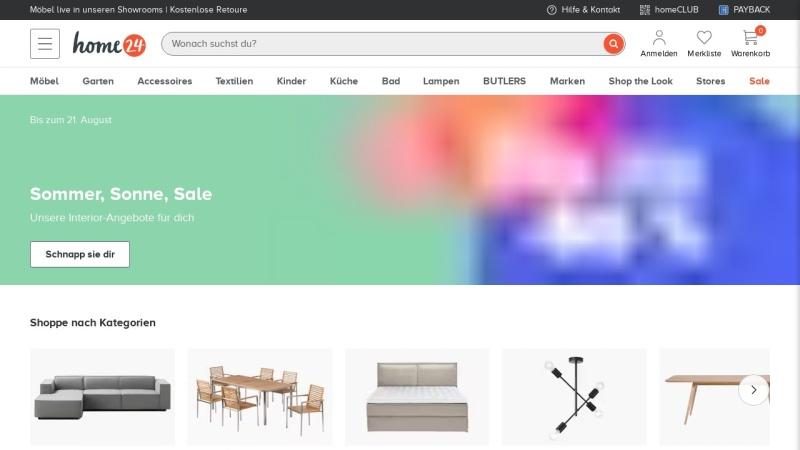 www.home24.de Vorschau, Home24