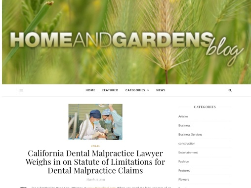 California Dental Malpractice Lawyer Weighs in on Statute of Limitations for Dental Malpractice Clai