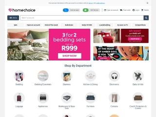 Screenshot for homechoice.co.za