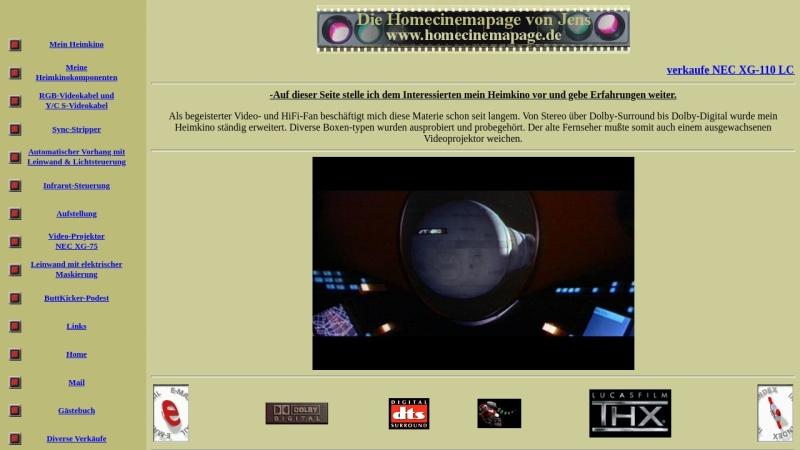 www.homecinemapage.de Vorschau, Jens Redelfs
