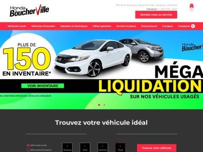 Honda Rive-Sud - Concessionnaire Honda à Boucherville