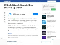 31 Useful Google Blogs To Keep Yourself Up To Date