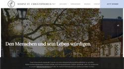 www.hospiz-st-christophorus.de Vorschau, Hospiz St. Christophorus