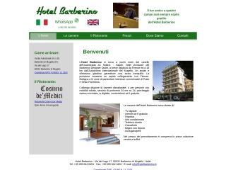 screenshot hotelbarberino.it