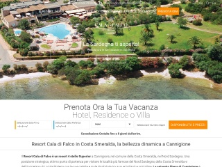 screenshot hotelcaladifalco.com