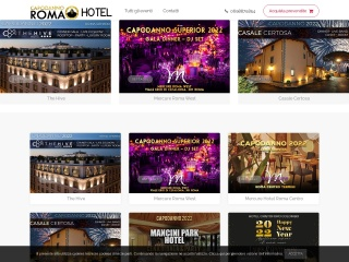 screenshot hotelcapodannoroma.it