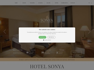 screenshot hotelsonya.it