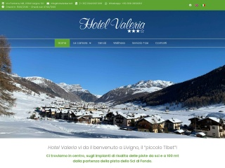 screenshot hotelvaleria.it