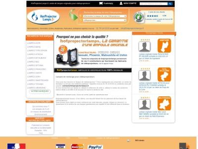 Hotprojectorlamps.fr : Achat d'ampoules originales pour projecteurs