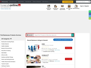 Screenshot for howrahonline.in