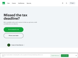 H&R Block screenshot