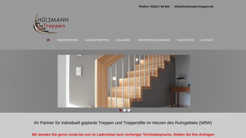 www.huelsmann-treppen.de Vorschau, Hülsmann Treppen