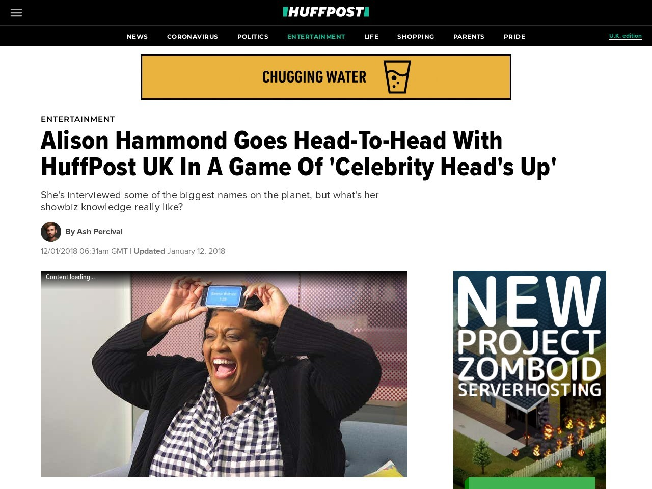 Alison Hammond Goes Head-To-Head With HuffPost UK In A Game Of 'Celebrity Head's Up'