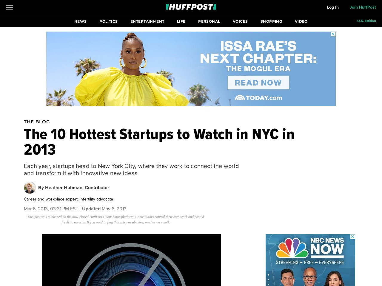 The 10 Hottest Startups to Watch in NYC in 2013