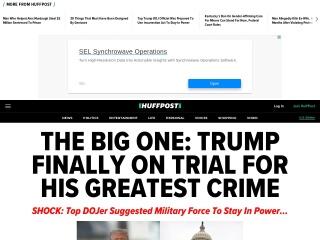 Screenshot for huffingtonpost.com