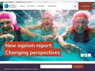Screenshot for humanrights.gov.au