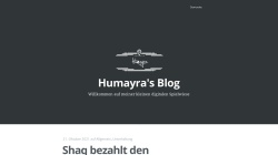 www.humayra.de Vorschau, Humayra
