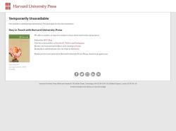 Home | Harvard University Press