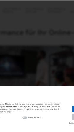 Vorschau der mobilen Webseite www.hurra.com, Hurra Communications GmbH