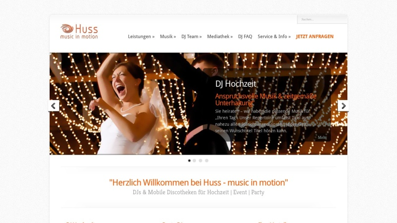 www.huss-musicinmotion.de Vorschau, Huss - music in motion