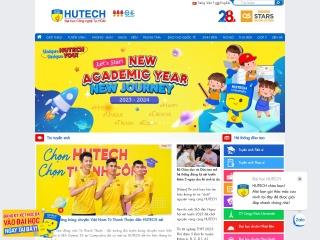 Ảnh chụp màn hình của hutech.edu.vn