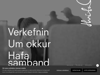Screenshot for hvitahusid.is