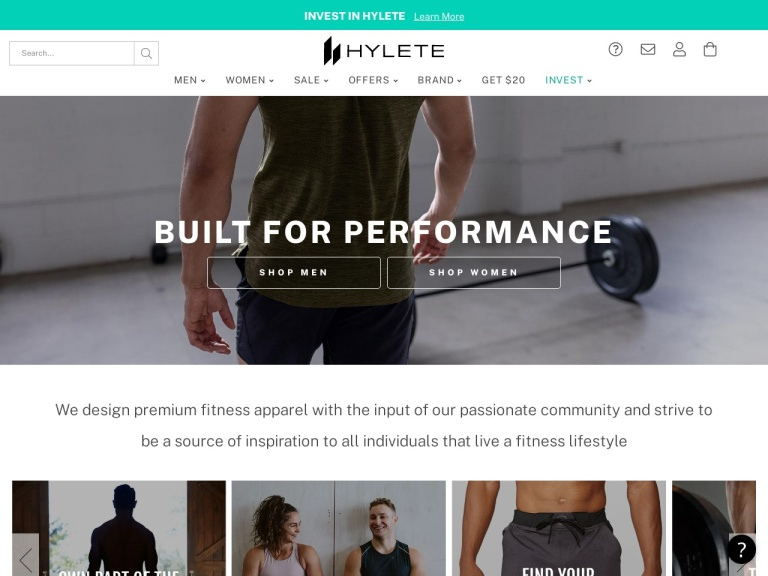 Hylete-Hylete- Refer-A-Friend! Give Friends $20 Off Their First Order ($40 minimum) And Get $20 When They Make a Purchase at Hylete.com. No Code Needed.