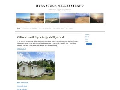 www.hyrastugamellbystrand.se