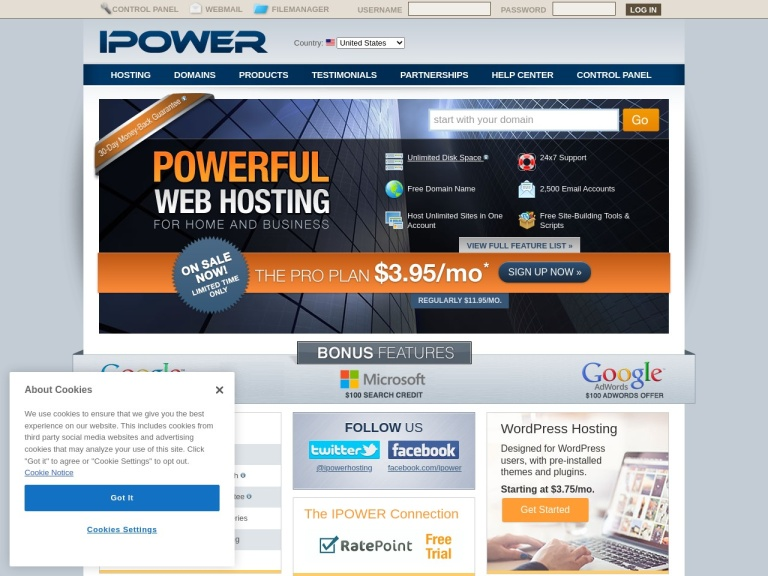 IPOWER screenshot